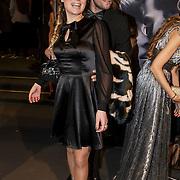 NLD/Amsterdam/20150211 - Premiere Fifty Shades of Grey, Sandra van Nieuwland en partner