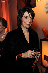 Carolyn McCall chief executive of the Guardian Media Group at the presentation of the Veuve Clicquot Business Woman Award 2010 held at the Institute of Contemporary Arts, 12 Carlton House Terrace, London on 23rd March 2010.  The winner was Laura Tenison - Founder and Managing Director of JoJo Maman Bebe.