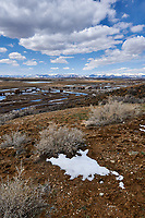 Eastern overlook of the wetlands in Arapaho National Wildlife Refuge. Image five of seven taken with a Nikon D3 camera and 14-24 mm f/2.8 lens (ISO 200, 23 mm, f/16, 1/200 sec). Panorama composed using Auto Pano Giga Pro.