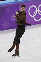 February 17, 2018 - Pyeongchang, KOREA - Paul Fentz of Germany competing in the men's figure skating free skate program during the Pyeongchang 2018 Olympic Winter Games at Gangneung Ice Arena. (Credit Image: © David McIntyre via ZUMA Wire)