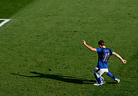 Photo: Glyn Thomas.<br />Italy v Australia. 2nd Round, FIFA World Cup 2006. 26/06/2006.<br /> Italy's Francesco Totti scores his side's last-minute penalty.