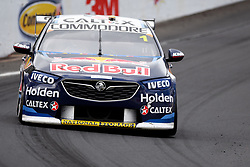 October 7, 2018 - Bathurst, NSW, U.S. - BATHURST, NSW - OCTOBER 07: Jamie Whincup / Paul Dumbrell in the Red Bull Holden Racing Team Holden Commodore across the top of the mountain at the Supercheap Auto Bathurst 1000 V8 Supercar Race at Mount Panorama Circuit in Bathurst, Australia on October 07, 2018 (Photo by Speed Media/Icon Sportswire) (Credit Image: © Speed Media/Icon SMI via ZUMA Press)
