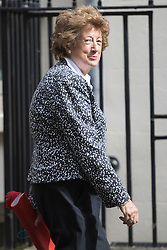 Downing Street, London, June 14th 2016. Minister of State for Foreign and Commonwealth Affairs Baroness Joyce Anelay arrives at 10 Downing Street to attend the weekly cabinet meeting.