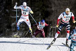 January 1, 2018 - Stockholm, Sweden - Daniel Richardsson. 10 km fristil, damer och 15 km fristil herrar. Tour de Ski, Lenzerheide (Credit Image: © Orre Pontus/Aftonbladet/IBL via ZUMA Wire)