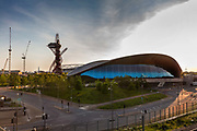 Lea Valley Velopark during the coronavirus pandemic on the 7th May 2020 in London, United Kingdom. The Velodrome remains to be the only venue in the world where you can experience BMX, track and mountain biking.