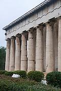 Temple of Hephaestus The ancient Agora, Athens, Greece,