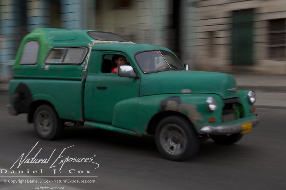 Vintage car, Havana, Cuba.
