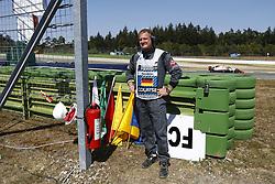 July 20, 2018 - Hockenheim, Germany - Motorsports: FIA Formula One World Championship 2018, Grand Prix of Germany, ..steward, Streckenposten, track marshal  (Credit Image: © Hoch Zwei via ZUMA Wire)