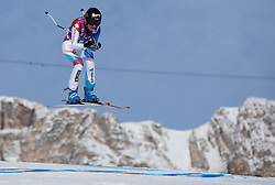 19.01.2013, Olympia delle Tofane, Cortina d Ampezzo, ITA, FIS Weltcup Ski Alpin, Abfahrt, Damen, im Bild Lara Gut (SUI) // Lara Gut of Switzerland in action during the ladies Downhill of the FIS Ski Alpine World Cup at the Olympia delle Tofane course, Cortina d Ampezzo, Italy on 2013/01/19. EXPA Pictures © 2013, PhotoCredit: EXPA/ Johann Groder