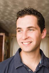 Portrait of young Polish man,