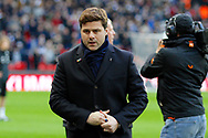 Tottenham Hotspur manager Mauricio Pochettino during the Premier League match between Tottenham Hotspur and West Bromwich Albion at Wembley Stadium, London, England on 25 November 2017. Photo by Andy Walter.