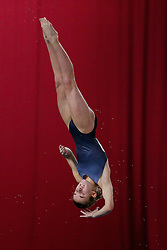 Maria Papworth of Crystal Palace Diving Club competes in the Womens 3m Springboard Preliminary - Photo mandatory by-line: Rogan Thomson/JMP - 07966 386802 - 22/02/2015 - SPORT - DIVING - Plymouth Life Centre, England - Day 3 - British Gas Diving Championships 2015.