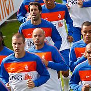 NLD/Katwijk/20100831 - Training Nederlands Elftal kwalificatie EK 2012, Ruud van Nistelrooy