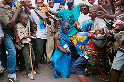 DEMOCRATIC REPUBLIC OF CONGO - Residents of Kinshasa take part in independence day celebrations. (Photo © Jock Fistick)