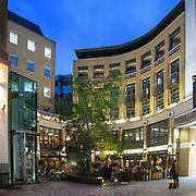 La piazza commerciale San Martin Court Yard di Covent Garden <br /> <br /> The commercial square San Martin Court Yard in Covent Garden