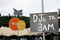 Latitude Festival 2017, Henham Park, Suffolk, UK. Blixen bar