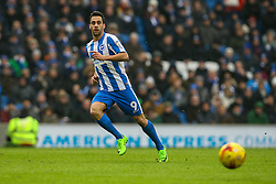 Sam Baldock of Brighton & Hove Albion in action - Mandatory by-line: Jason Brown/JMP - 11/02/2017 - FOOTBALL - Amex Stadium - Brighton, England - Brighton and Hove Albion v Burton Albion - Sky Bet Championship