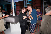 CHRISTOPHER KANE; HENRY HOLLAND, Alexandra Shulman, Editor of Vogue & Phil Popham, Managing Director of Land Rover<br /> host the 40th Anniversary of Range Rover. The Orangery at Kensington Palace. London. 1 July 2010. -DO NOT ARCHIVE-© Copyright Photograph by Dafydd Jones. 248 Clapham Rd. London SW9 0PZ. Tel 0207 820 0771. www.dafjones.com.