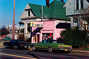 CS02990. Pink Pelican records, 3820 NE Union, @ Failing. Feb. 5, 1974
