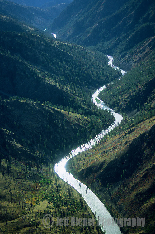 The Middle Fork of the Salmon River.  Frank Church-River of no Return Wilderness, Idaho.