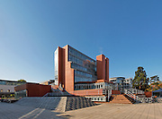History Faculty Building, Cambridge University, James Stirling Architect Completed 1968