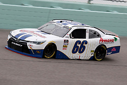 November 16, 2018 - Homestead, FL, U.S. - HOMESTEAD, FL - NOVEMBER 16: Chad Finchum, driver of the #66 Toyota, during practice for the NASCAR Xfinity Series playoff race, the Ford EcoBoost 300 on November 16, 2018, at Homestead-Miami Speedway in Homestead, FL. (Photo by Malcolm Hope/Icon Sportswire) (Credit Image: © Malcolm Hope/Icon SMI via ZUMA Press)