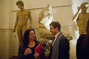 REBECCA KING LASSMAN;TY  WOOD Royal Academy Schools fundraising Annual dinner and auction. Royal academy Schools. Burlington St. London.  24 March 2009