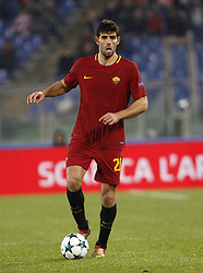 December 5, 2017 - Rome, Italy - Roma s Federico Fazio in action during the Champions League Group C soccer match between Roma and Qarabag at the Olympic stadium. Roma won 1-0 to reach the round of 16. (Credit Image: © Riccardo De Luca/Pacific Press via ZUMA Wire)