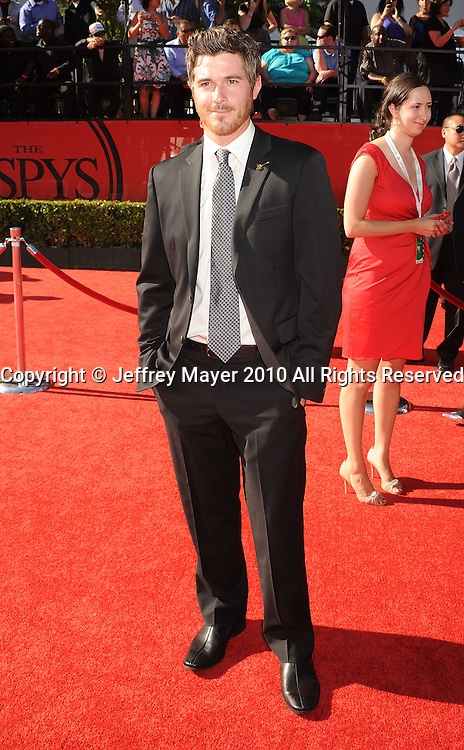 LOS ANGELES, CA. - July 14: David Annable arrives at the 2010 ESPY Awards at Nokia Theatre L.A. Live on July 14, 2010 in Los Angeles, California.
