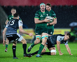 Paul Boyle of Connacht <br /> <br /> Photographer Simon King/Replay Images<br /> <br /> Guinness PRO14 Round 6 - Ospreys v Connacht - Saturday 2nd November 2019 - Liberty Stadium - Swansea<br /> <br /> World Copyright © Replay Images . All rights reserved. info@replayimages.co.uk - http://replayimages.co.uk