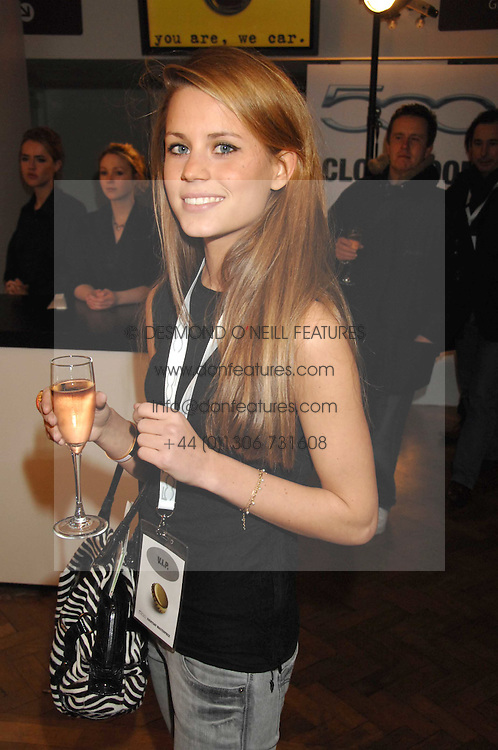 IRENE FORTE at a party to celebrate the launch of the new Fiat 500 car held at the London Eye, Westminster Bridge Road, London on 21st January 2008.<br /><br />NON EXCLUSIVE - WORLD RIGHTS (EMBARGOED FOR PUBLICATION IN UK MAGAZINES UNTIL 1 MONTH AFTER CREATE DATE AND TIME) www.donfeatures.com  +44 (0) 7092 235465