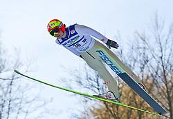 05.02.2011, Heini Klopfer Skiflugschanze, Oberstdorf, GER, FIS World Cup, Ski Jumping, Probedurchgang, im Bild Tom Hilde (NOR) , during ski jump at the ski jumping world cup Trail round in Oberstdorf, Germany on 05/02/2011, EXPA Pictures © 2011, PhotoCredit: EXPA/ P. Rinderer