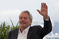 Actor Alain Delon ahead of recieving an honorary Palme d'Or at the 72nd Cannes Film Festival, Sunday 19th May 2019, Cannes, France. Photo credit: Doreen Kennedy