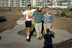 David, Ben & George In Calais