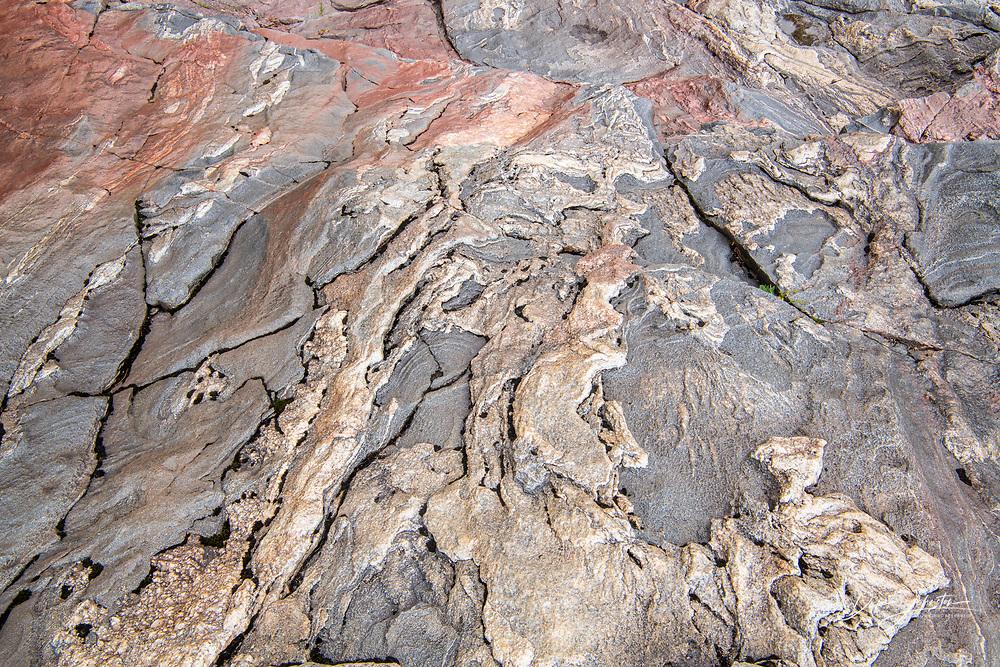 Sand River granite, Lake Superior Provincial Park, Ontario, Canada
