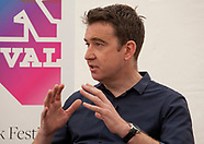 Media in an Age of Fake News discussion at the Dalkey Book Festival