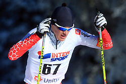 Slovenian cross-country skier Matej Simenc at 10th OPA - Continental Cup 2008-2009, on January 17, 2009, in Rogla, Slovenia.  (Photo by Vid Ponikvar / Sportida)