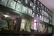 Auschwitz Concentration Camp museum. Victims of the genocide, on Sunday, Apr. 16, 2006. **ITALY OUT**