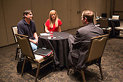 Anderson Business Advisors host their annual Startup University at the Hard Rock Hotel and Casino in Las Vegas, Nevada, on February 7, 2015. (Stan Olszewski/SOSKIphoto)