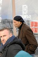 Kareem Abdul-Jabbar visiting the Eiffel Tower in Paris/France