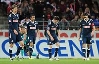 Fotball<br /> Tyskland<br /> 10.04.2012<br /> Foto: Witters/Digitalsport<br /> NORWAY ONLY<br /> <br /> Enttaeuschung Koeln<br /> Bundesliga, 1. FSV Mainz 05 - 1. FC Köln