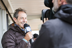 July 20, 2017 - Shaun Tomson provided entertaining and informative commentray from the sidelines throughout the Corona Open J-Bay...Corona Open J-Bay, Eastern Cape, South Africa - 20 Jul 2017. (Credit Image: © Rex Shutterstock via ZUMA Press)
