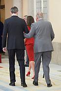 031520 King Felipe VI of Spain and King Juan Carlos I of Spain
