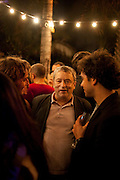 SIR NORMAN ROSENTHAL, White cube party. Soho House, Miami Beach. Miami Art Basel 201. 29 November 2011.