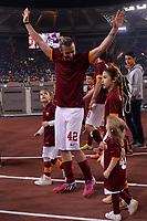 Federico Balzaretti e famiglia.<br /> Roma 31-05-2015 Stadio Olimpico. Football Calcio 2014/2015 Serie A. AS Roma - Palermo. Foto Antonietta Baldassarre / Insidefoto