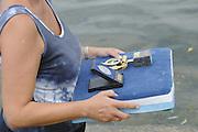 Ghent, Belgium. Medla for presentation. Sunday  08/05/2011   [Mandatory Credit; Peter Spurrier/Intersport-images]. 2011 Gent International Regatta.