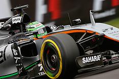 Mexico Grand Prix - Qualifying 29 Oct 2016