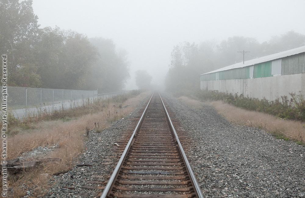 Rail Tracks, North Pownal VT
