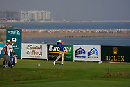 Maximilian Kieffer (GER) on the 9th during Round 4 of the Oman Open 2020 at the Al Mouj Golf Club, Muscat, Oman . 01/03/2020<br /> Picture: Golffile   Thos Caffrey<br /> <br /> <br /> All photo usage must carry mandatory copyright credit (© Golffile   Thos Caffrey)