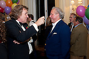 THEO FENNELL; GRAYDON CARTER, Kate Reardon and Michael Roberts host a party to celebrate the launch of Vanity Fair on Couture. The Ballroom, Moet Hennessy, 13 Grosvenor Crescent. London. 27 October 2010. -DO NOT ARCHIVE-© Copyright Photograph by Dafydd Jones. 248 Clapham Rd. London SW9 0PZ. Tel 0207 820 0771. www.dafjones.com.